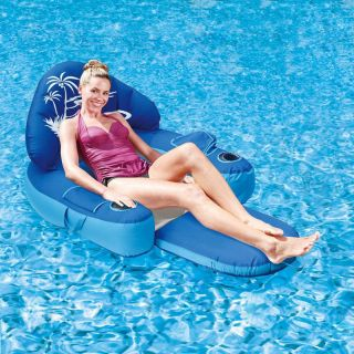 Swim Time Mandalay Deluxe 60 in. Floating Pool Lounger   Swimming Pool Floats