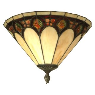 Dale Tiffany Crystal Jeweled Pebble Stone Wall Sconce   14.25 watt in. Antique Bronze Paint   Tiffany Wall Lights