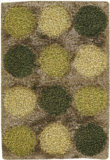Rocco Collection Hand woven Contemporary Shag Rug (7'9 x 10'6) by Chandra Rugs   Area Rugs