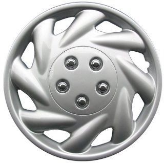 "Drive Accessories KT 869 15S/L, Saturn, 15"" Silver Replica Wheel Cover, (Set of 4) Automotive"