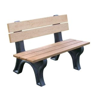 Econo Mizer Traditional Commercial Grade Park Bench   Outdoor Benches