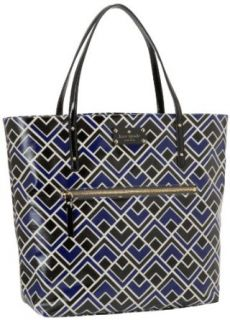 Kate Spade New York Flicker Fabric Bon Tote, Yves Blue, One Size Clothing