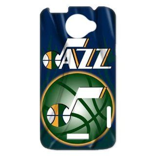 NBA Utah Jazz Team Logo HTC ONE X Best Durable Plastic Case for Fans Electronics