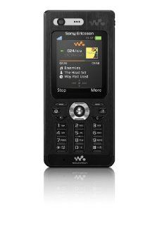 Sony Ericsson W880i Unlocked Cell Phone with 2 MP Camera, 3G, /Video Player, Memory Stick Pro Duo Slot  International Version with No Warranty (Pitch Black) Cell Phones & Accessories