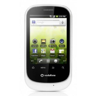 HUAWEI Vodafone 858 Smart U8160 Unlocked GSM Phone with Android 2.2 OS, Touchscreen, 2MP Camera, Wi Fi, GPS, Radio and microSD Slot   White Cell Phones & Accessories