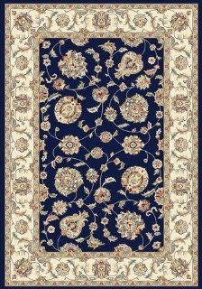 Dynamic Rugs Ancient Garden 3.11X5.7 57365 3464 Blue/Ivory   Area Rugs