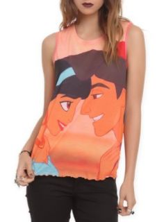 Disney Aladdin Jasmine Girls Tank Top 3XL Size  XXX Large