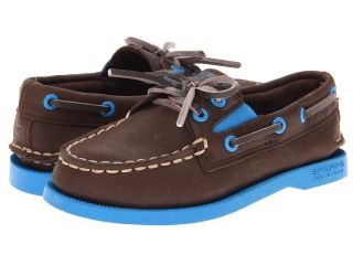 Sperry Top Sider Kids A/O Gore Boys Shoes (Brown)
