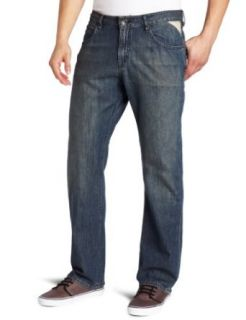 Volcom Men's Enowen Jean with 30 Inch Inseam, Norion Wash, 28 at  Men�s Clothing store