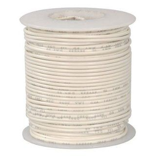 Ul1007 1569 18 Awg Stranded Hook Up Wire 100 Feet White Electronic Component Wire