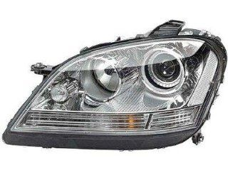 DRIVER SIDE HEADLIGHT Mercedes Benz ML320, Mercedes Benz ML350, Mercedes Benz ML550, Mercedes Benz ML63 AMG HID TYPE HEAD LIGHT ASSEMBLY; INCLUDES BALLAST; FOR USE WITHOUT SPECIAL EDITION Automotive
