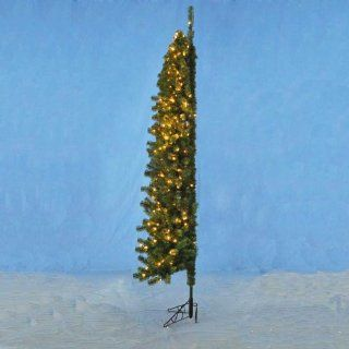 7.5' Pre Lit Winchester Corner Christmas Tree   Clear Lights   Kurt Adler Christmas Tree