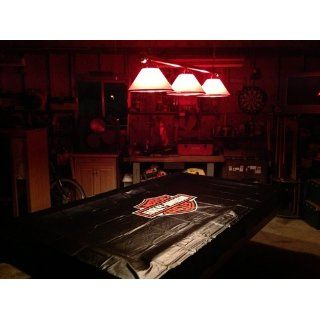 Harley Davidson� Vinyl Pool Table Cover  Billiard Table Covers  Sports & Outdoors