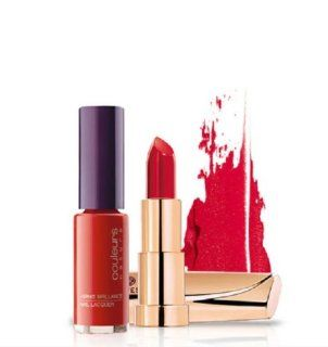 Couleurs Nature PINK LIPSTICK + CHOCHOLATE BROWN NAIL LACQUER Mix & Match Duo Set by Yves Rocher  Other Products