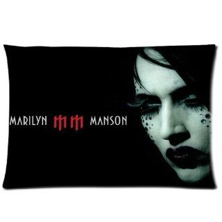 Marilyn Manson Custom Pillowcase Standard Size 20x30 PWC 913