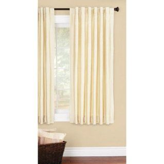 Better Homes and Gardens Faux Silk Window Panel   Window Treatment Curtains