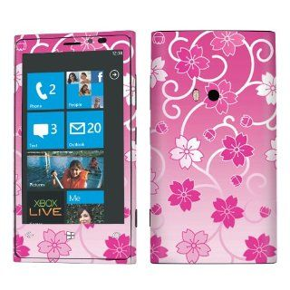 USA Nokia Lumia 920 Case Decal Vinyl Skin Cover Sticker Japan Pink Sakura  Other Products