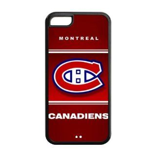 Most Popular Unique Designer NHL Montreal Canadiens   iPhone 5C Cover, Cell Phone Case  Black Cell Phones & Accessories
