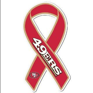 NFL San Francisco 49ers Ribbon Magnet  Sports Related Magnets  Sports & Outdoors