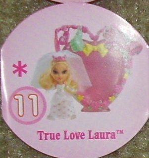 Barbie Peek a boo Petites Wedding Wishes Doll #11 True Love Laura Toys & Games