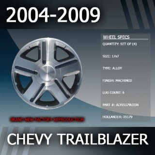 "2004 2009 Chevy Trailblazer Factory 17"" Wheels Set of 4 Automotive"