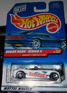 Sugar Rush 2 Series #4 Dodge Concept Car Metal Base WIth DCC And Concept On Base #972 Condition Mattel Hot Wheels 164 Scale Toys & Games