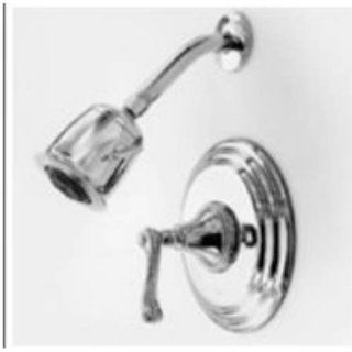 Newport Brass 3 984BP/10 Amisa Single Handle Pressure Balanced Shower Trim Only with Single Function Show, Satin Bronze   Fixed Showerheads
