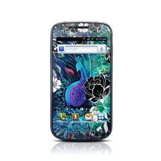 Peacock Garden Design Protective Skin Decal Sticker for Samsung Galaxy S Blaze 4G SGH T959 Cell Phone Cell Phones & Accessories