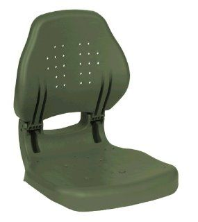Wise Plastic Folding Boat Seat, OD Green  Sports & Outdoors