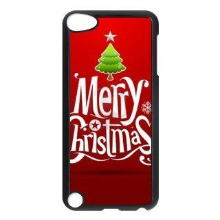 New Item Christmas Theme Personalized Hard Best Case Cover for iPod Touch 5 Cell Phones & Accessories