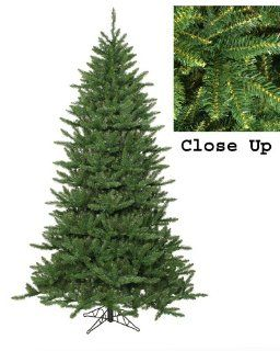 12' Frasier Fir Artificial Christmas Tree with Rolling Tree Stand   Unlit