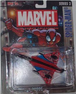 Maisto Ultimate Marvel Air Force Spider Man Mirage 2000C Airplane Diecast Spiderman Plane Toys & Games
