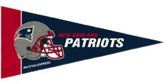 New England Patriots NFL Mini Pennants   8 Piece Set  Sports Related Pennants  Sports & Outdoors