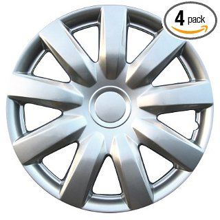 "Drive Accessories KT 985 15S/L, Toyota Camry, 15"" Silver Lacquer Replica Wheel Cover, (Set of 4) Automotive"