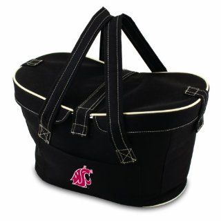 NCAA Washington State Cougars Mercado Insulated Cooler Basket  Picnic Baskets  Clothing
