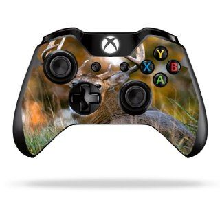 MightySkins Protective Vinyl Skin Decal Cover for Microsoft Xbox One Controller Sticker Skins Deer Electronics