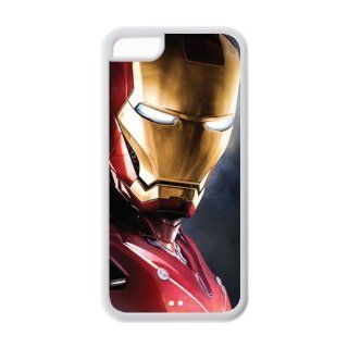 Custom Iron Man Cover Case for iPhone 5C LC 988 Cell Phones & Accessories