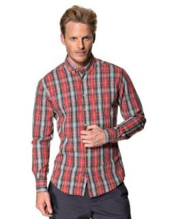 Kronstadt Men's Long sleeved Shirt at  Men�s Clothing store Button Down Shirts
