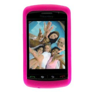 BlackBerry 9530/9500 Storm Trans. Hot Pink Silicon Skin Case