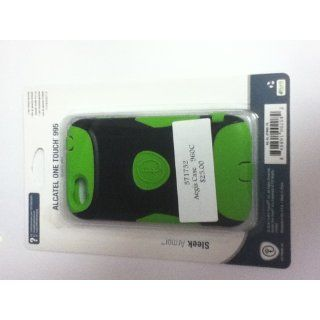 Trident Case Aegis Series Case for Alcatel One Touch Ultra 995/998   Retail Packaging   Green Cell Phones & Accessories