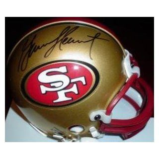 Garrison Hearst (San Francisco 49ers) ) Football Mini Helmet  Sports Related Collectibles  Sports & Outdoors