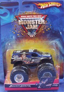 Hot Wheels Monster Jam Truck BOUNTY HUNTER #10 2006 164 Scale Toys & Games