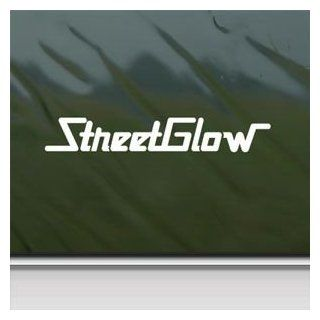 Street Glow White Sticker Decal Car Window Wall Macbook Notebook Laptop Sticker Decal   Decorative Wall Appliques