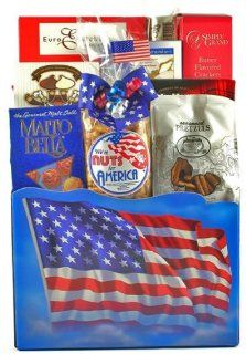 The All American Gourmet Snack Food Basket   Great Fathers Day Gift Idea  Gourmet Snacks And Hors Doeuvres Gifts  Grocery & Gourmet Food