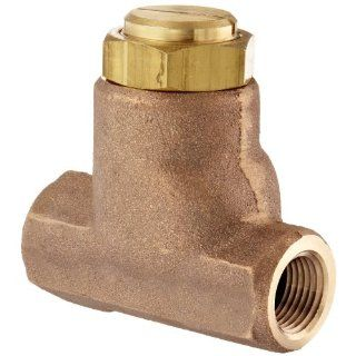 "Parker 032500419 3250 Series Brass Inline Flow Control Valve, 1/2"" NPTF, 250 psi, Standard Adjustment Industrial Control Valves"