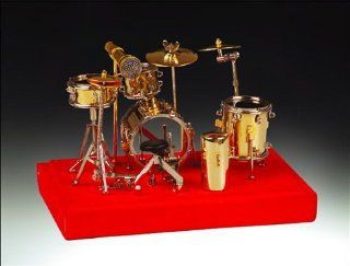 Miniature Gold Drum Set Small  Other Products