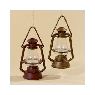 "Club Pack of 12 Railroad Lantern Christmas Ornaments 5""   Christmas Ball Ornaments"