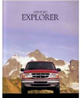 1995 Ford Explorer Sales Brochure Literature Piece Advertisement Specifications Automotive