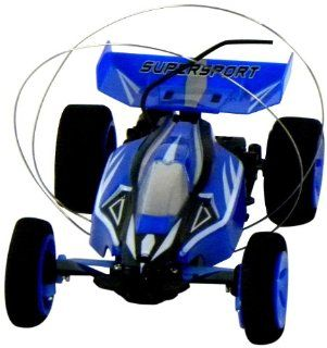 Super Buggy Self Righting Mini RC Car with LiPo Battery and Charger, 1/43 Scale (Colors may Vary) Toys & Games