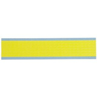 "Brady DIA 500 YL 0.5"" Width x 0.25"" Height, B 500 Repositionable Vinyl Cloth, Matte Finish Yellow Die Cut Inspection Arrows Industrial Warning Signs"